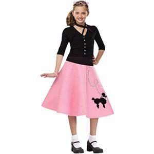 50s Poodle Skirt Kids